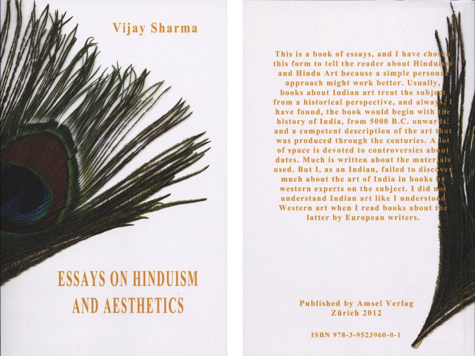 Essays on Hinduism and Aesthetics by Vijay Sharma